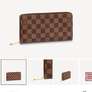 100% Authentic Louis Vuitton Zippy Wallet!